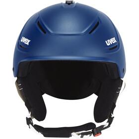 UVEX P1Us 2.0 casco, navyblue mat